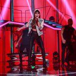 "Aitana interpreta ""¡Chas! y aparezco a tu lado"" en la Gala 9 de 'OT 2017'"