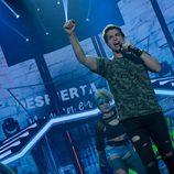 """Carlos Baute canta """"Vamo' a la calle"""" como artista invitado de la Gala 9 de 'OT 2017'"""