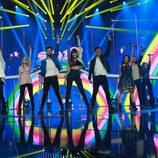 """Los concursantes de 'OT 2017' cantan """"Hoy puede ser un gran día"""" en la Gala 9"""