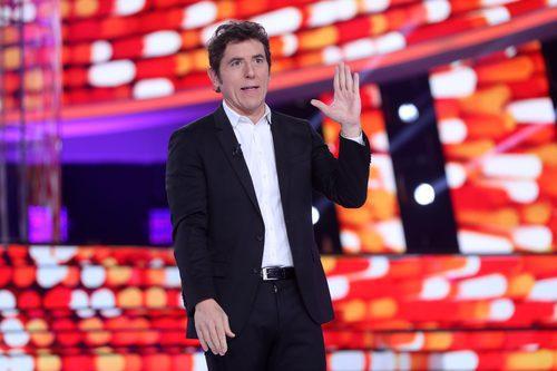 Manel Fuentes, el presentador de 'Tu cara me suena', durante el Concierto de Año Nuevo