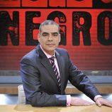 Nacho Abad, presentador de 'Rojo y Negro'