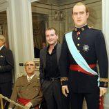 Fernando Cayo en el museo de cera
