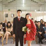 La boda de Jan en el capítulo