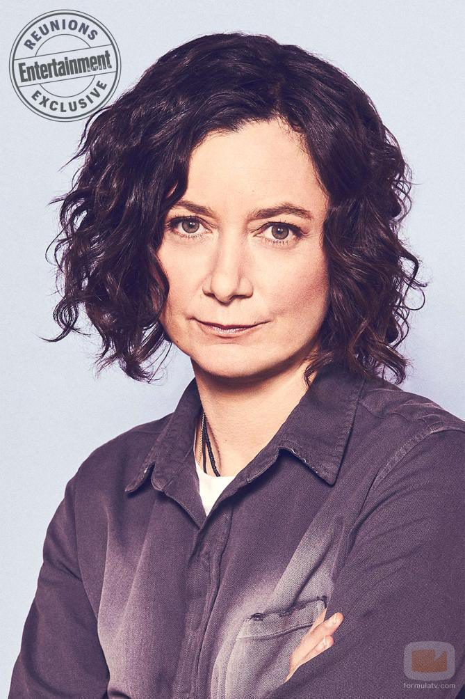 Sara Gilbert interpreta a Darlene Conner-Healy en 'Roseanne'