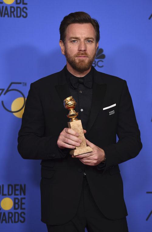 Ewan McGregor, ganador del Globo de Oro 2018 a Mejor actor de miniserie