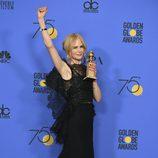 Nicole Kidman, ganadora del Globo de Oro 2018 a Mejor actriz de miniserie