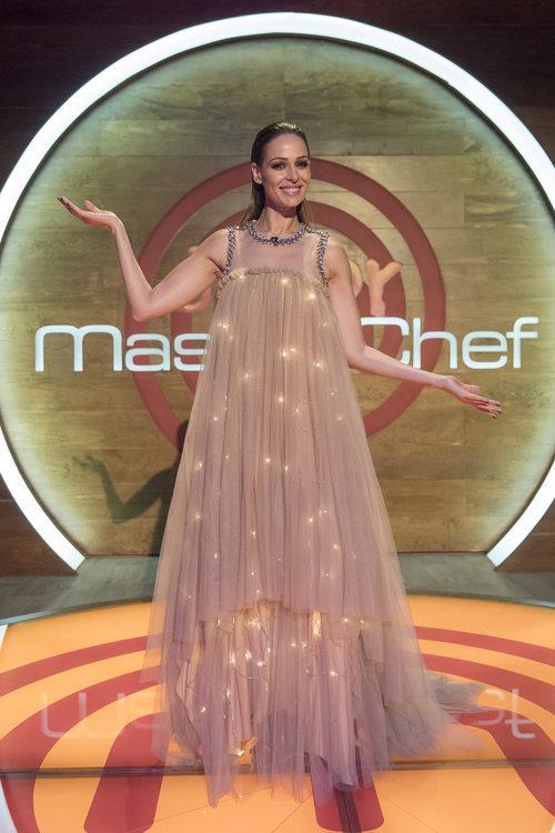 Eva González en la final de 'Master Chef Junior 5'