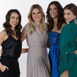 Filomena Cautela, Sílvia Alberto, Daniela Ruah y Catarina Furtado, presentadoras del Festival de Eurovisión 2018