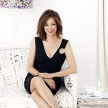 Ana Rosa Quintana, con un vestido negro para 'El programa de Ana Rosa'