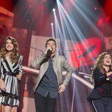 """Amaia, Roi y Miriam cantan """"Robarte un beso"""" en la gala 10 de 'OT 2017'"""