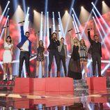 Los concursantes en la gala 10 de 'OT 2017'