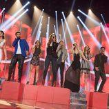 """Los concursantes cantan """"Resistiré"""" en la gala 10 de 'OT 2017'"""