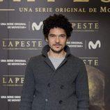 Pablo Molinero en la presentación de 'La peste'