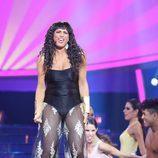 Lucía Jiménez es Irene Cara en la gala 13 de 'Tu cara me suena'