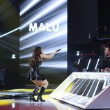 Lucía Gil es Malú en la gala 13 de 'Tu cara me suena'