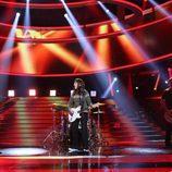 """Pepa Aniorte imita a Dover cantando """"Serenade"""" en la gala 13 de 'Tu cara me suena'"""