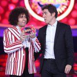 Miquel Fernández cede su premio a La Terremoto de Alcorcón en la gala 13 de 'Tu cara me suena'