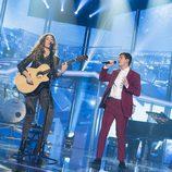 """Alfred y Miriam cantan """"Cuando duermes"""" en la Gala 11 de 'OT 2017'"""