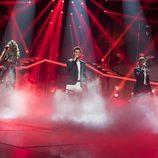 "Amaia, Agoney y Aitana cantan ""Lucha de Gigantes"" en la Gala 11 de 'OT 2017'"