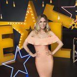 Edurne, jurado de 'Got Talent España', posa en el decorado del programa