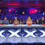 El jurado preparado en el primer programa de la tercera edición de 'Got Talent Epaña'