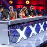 El jurado de la tercera edición de 'Got Talent España' delibera sobre una de las actuaciones