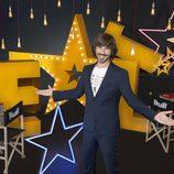 Santi Millán, sonriente, en la tercera edición de 'Got Talent España'