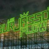 """Cartel de """"Burjassot Flow"""" en 'Los reyes del barrio'"""