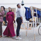 """Juan, Cristina y Fede son los """"Salamanca Style"""" en 'Los reyes del barrio'"""