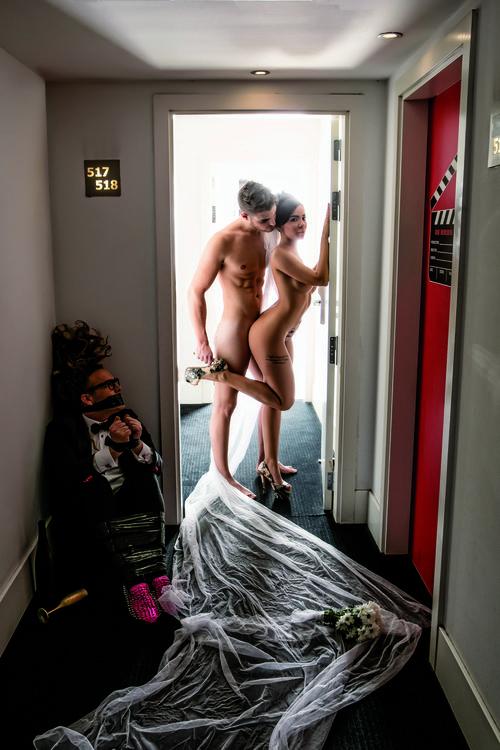 Jaime y Sonia de '¿Quién quiere casarse con mi hijo?', desnudos junto a Torito para Primera Línea