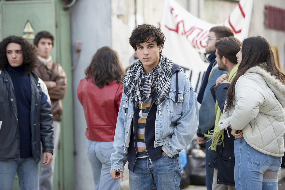 Bruno al que interpreta scar casas en el primer cap tulo de la temporada 19 de 39 cu ntame c mo - Maria y bruno ...