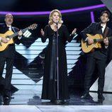 """Diana Navarro interpreta """"El rosario de mi madre"""" de María Dolores Pradera en la gala 14 de 'Tu cara me suena'"""