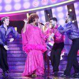 Carlos Baute se cambia de sexo e imita a Celia Cruz en la gala 14 de 'Tu cara me suena'