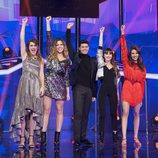 Finalistas de 'OT 2017' en la Gala 12
