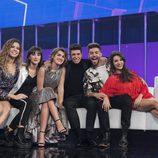 Los concursantes en la Gala 12 de 'OT 2017'