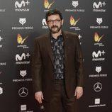 Manolo Solo posa en la alfombra roja de los Premios Feroz 2018