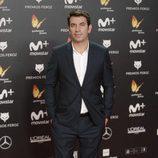 Arturo Valls posa en la alfombra roja de los Premios Feroz 2018