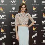 Macarena Gómez posa en la alfombra roja de los Premios Feroz 2018
