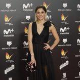 Mariam Hernández posa en la alfombra roja de los Premios Feroz 2018