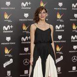 Malena Alterio posa en la alfombra roja de los Premios Feroz 2018