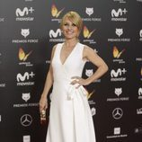 Cayetana Guillén Cuervo posa en la alfombra roja de los Premios Feroz 2018