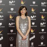 Marian Álvarez posa en la alfombra roja de los Premios Feroz 2018