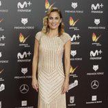 Toni Acosta posa en la alfombra roja de los Premios Feroz 2018