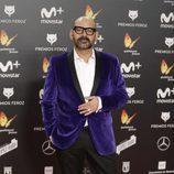 José Corbacho posa en la alfombra roja de los Premios Feroz 2018