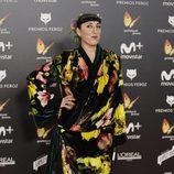 Rossy de Palma posa en la alfombra roja de los Premios Feroz 2018