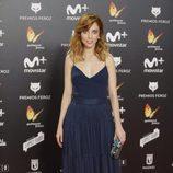 Leticia Dolera posa en la alfombra roja de los Premios Feroz 2018