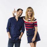 Ángel Martín y Patricia Conde, presentadores de un nuevo formato en #0