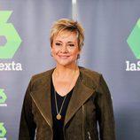 Gloria Serra en la rueda de prensa de los 7 años de 'Equipo de investigación'