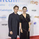 Carlos Cuevas e Irene Visedo en el preestreno de la temporada 19 de 'Cuéntame cómo pasó'