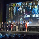 Los actores de la serie presentando el primer episodio de la 19 temporada de 'Cuéntame cómo pasó'